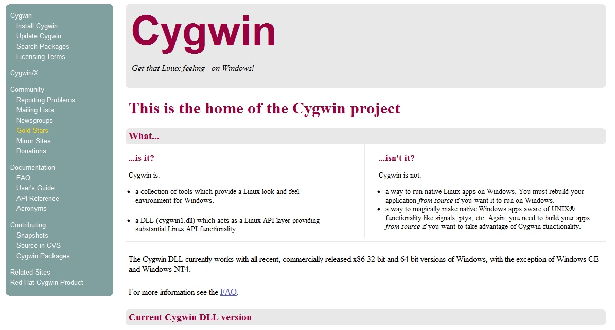 installez ruby ​​sur windows cygwin